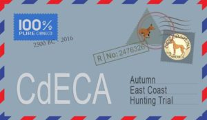 CdECA Autumn East Coast Hunting Trial @ Hosting Farm | Mannington Township | New Jersey | United States